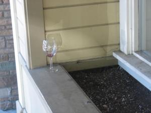 Left on window sill in Calistoga
